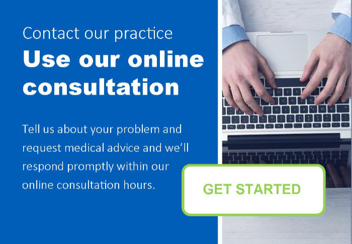 Use our online consultation